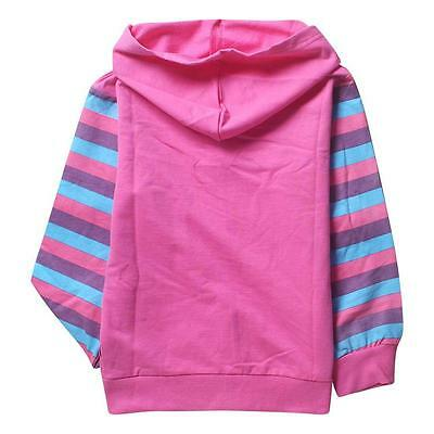New My Little Pony Hoodie PINK  2,3,4,5,6,7 YEARS JACKET Rainbow Dash twighlight 2
