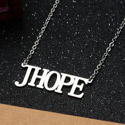 KPOP Bangtan Boys EXO GOT7 TWICE BLACKPINK NCT Steel Pendant Necklace 5