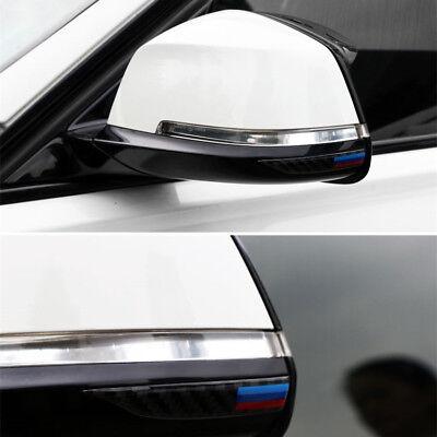 //M Sport Carbon Fiber Rearview Mirror Anti-Rub Strip Frames For BMW 1 2 4 GT X1 4