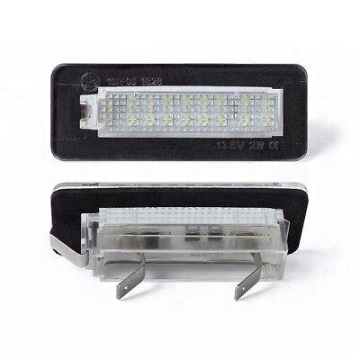 LED SMD Kennzeichen Nummernschild beleuchtung Smart Fortwo 450 W450