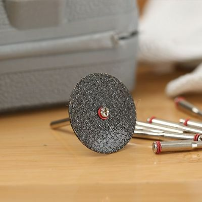 Steel Screw Mandrel Arbor Shank Cut-off Wheel Holder Dremel Shaft Tool 10x3.17m 7