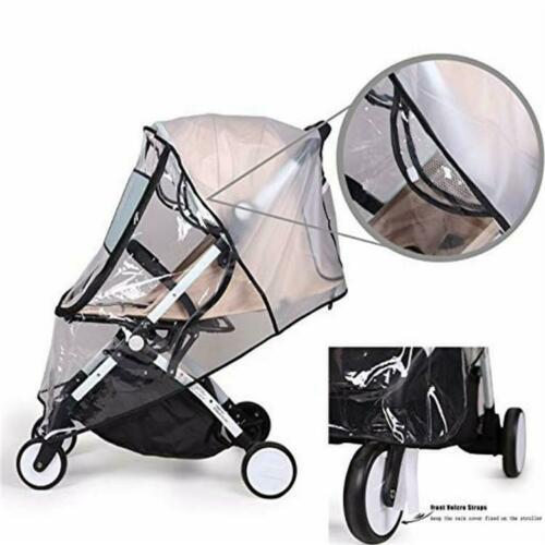 Buggy Rain Cover Universal Raincover Baby Kid Pushchair Stroller Pram Waterproof 2