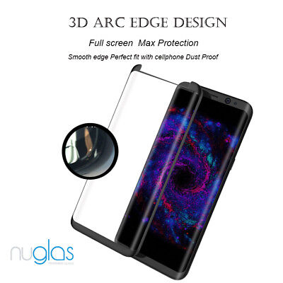 NUGLAS Tempered Glass Screen Protector Samsung Galaxy S10 5G S9 S8 Plus Note 9 8 7