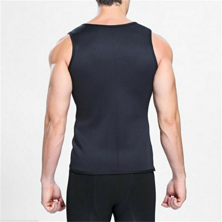 Men Neoprene Vest Cami Hot Shaper Gym Women Sauna Sweat Thermal Tank Top Girdles 9