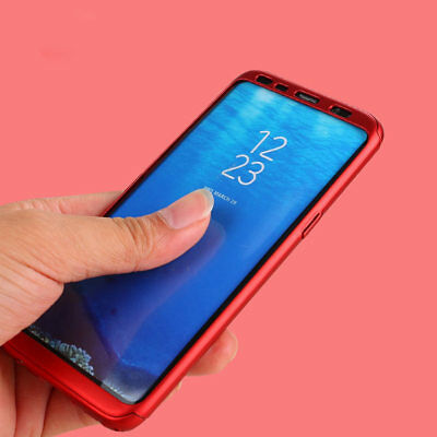 For Samsung Note 9 Note 8 360° Full Cover Shockproof Case Cover+Screen Protector 3