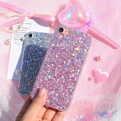 Bling Glitter Full Sparkle Protective Cute Slim Fit Phone Case Cover For iPhone 4