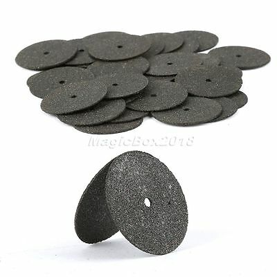 "36PCS 1 Tube 24mm 0.94"" Reinforced Black Power Cut Off Wheels Discs Rotary Tool 10"