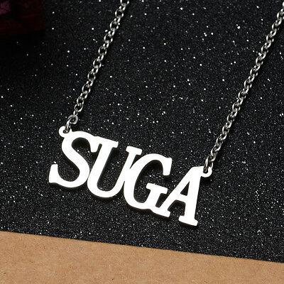 KPOP Bangtan Boys EXO GOT7 TWICE BLACKPINK NCT Steel Pendant Necklace 4