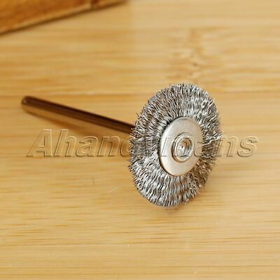 10Pcs Stainless Steel Wire Wheel Brushes Die Grinder Power Rotary Tool Wholesale 8