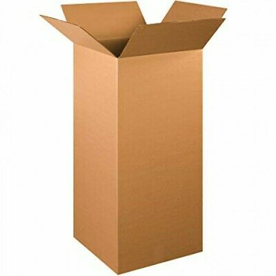 """Cardboard Postage Boxes Postal Mailing Small Parcel Single Wall Box 4"""" x 4"""" x 8"""" 3"""