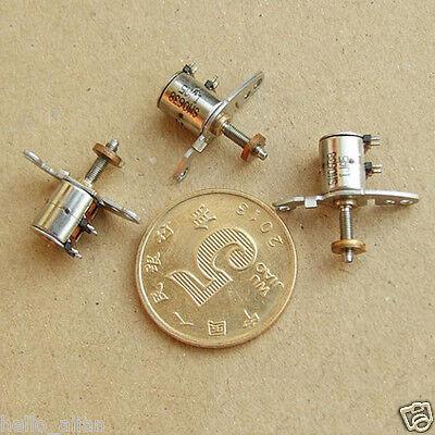 DC5V 2 Phase 4 Wire Micro Stepper Motor linear screw slider moving block nut DIY 7
