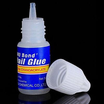 10 x 3gram Nail Glue Acrylic UV Gel False Nails Art Tips 20 2