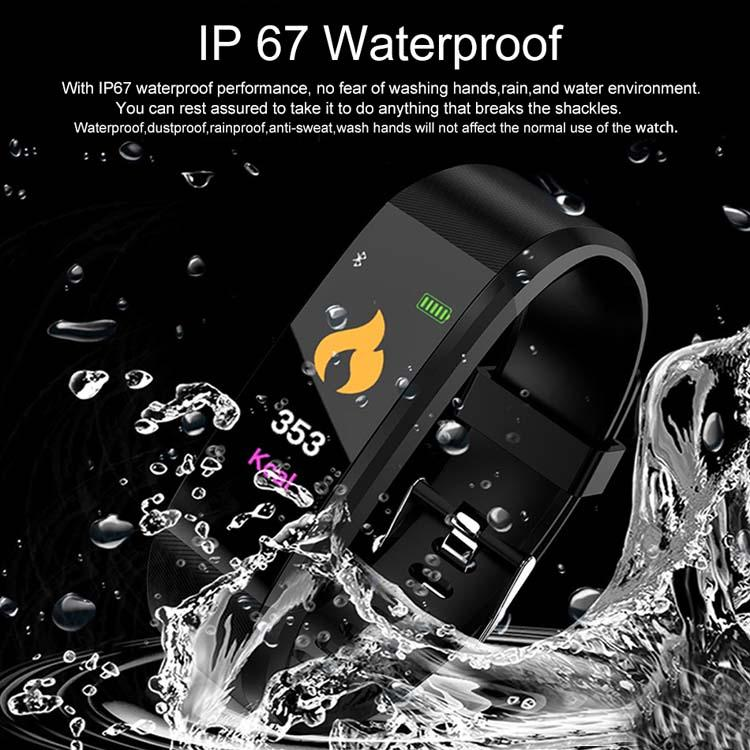 Smart Watch Bracelet Wristband Fitness Heart Rate BP Monitor iPhone Android 6