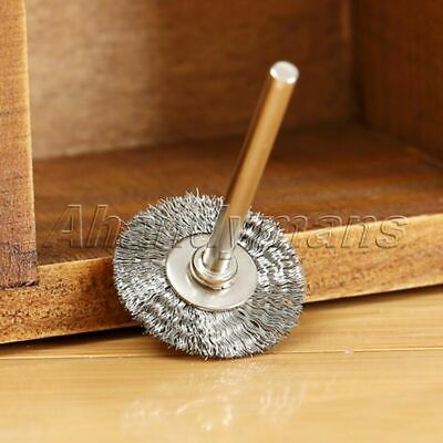 10Pcs Stainless Steel Wire Wheel Brushes Die Grinder Power Rotary Tool Wholesale 12
