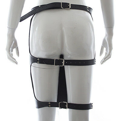 Jupe Cuir Lingerie Bdsm Soumise Vinyle Sexy Bondage Skirt Woman Sex Submission 6