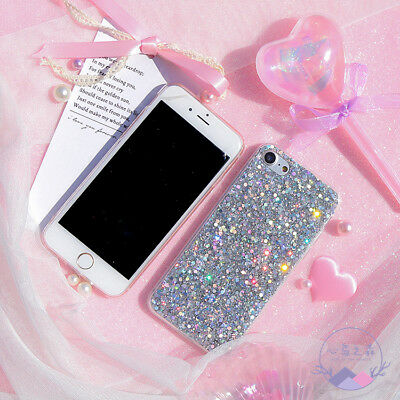 Bling Glitter Full Sparkle Protective Cute Slim Fit Phone Case Cover For iPhone 3