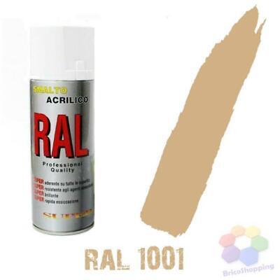 Bomboletta Spray Acrilico Colori Ral Vernice Graffiti Rapida Essiccazione 400 Ml 3