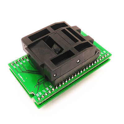 TQFP48 QFP48 To DIP48 SA248 IC Programmer Adapter Clamshell Test Socket  NEW CK 4