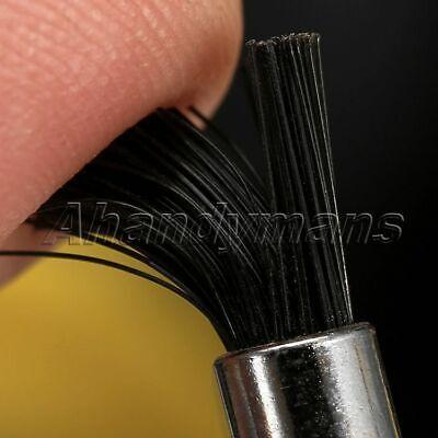 5Pcs Nylon Bristle Burr Pen Brushes Polishing Buffing Shank Grinder Power Tool 9