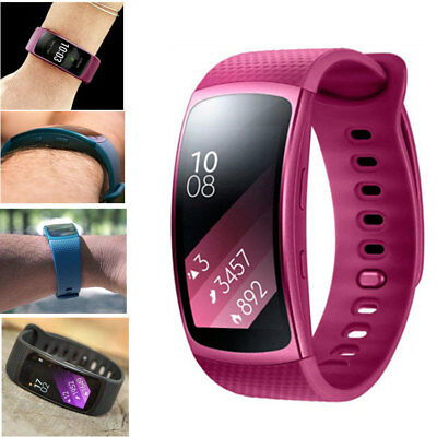 Replacement Wrist Band Silicone Strap Bracelet For Samsung Gear Fit 2 & Fit2 Pro 2