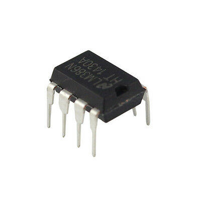 10PCS LM386 LM386N DIP-8 Audio Power AMPLIFIER IC Great Qualtiy QX