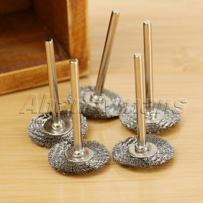 10Pcs Stainless Steel Wire Wheel Brushes Die Grinder Power Rotary Tool Wholesale 10