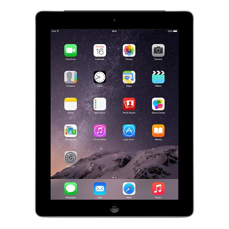 """Apple iPad 4th Gen Black - 16 GB - 9.7"""" Retina Display - iPad 4 Wi-Fi Bluetooth 5"""