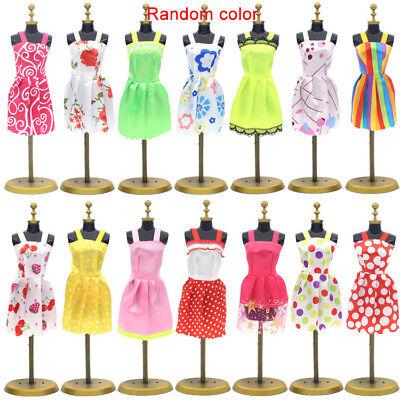 83Pcs Lot Fashion Handmade Party Dress Clothes Outfits For Barbie set Dolls UK 2