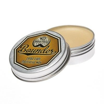 Bounder extra-firm moustache / mustache wax pack of 3 x 10g tins 3