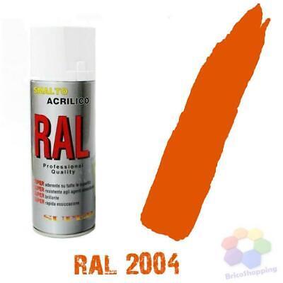 Bomboletta Spray Acrilico Colori Ral Vernice Graffiti Rapida Essiccazione 400 Ml 11