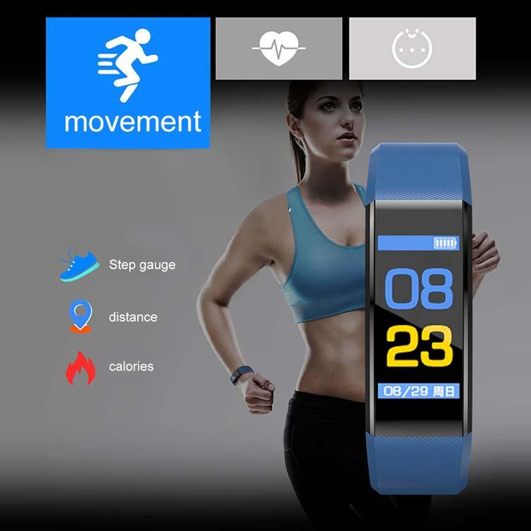 Smart Watch Bracelet Wristband Fitness Heart Rate BP Monitor iPhone Android 5