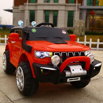 Auto Elettrica Per Bambini Macchina Jeep 2 Posti 4Wd 12V Con Telecomando Usb Mp3 7