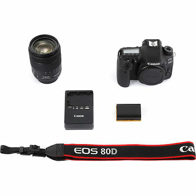 Canon EOS 80D DSLR Camera with EF-S 18-135mm f/3.5-5.6 IS USM lens 5