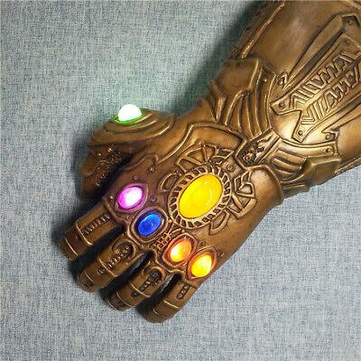 Thanos Infinity Gauntlet Glove Cosplay Avengers Endgame Infinity War Flash LED 2