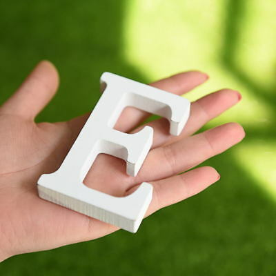 26 English Letters Wood Sticker Home Decor 3D Wall Stickers DIY Art Decorative 9