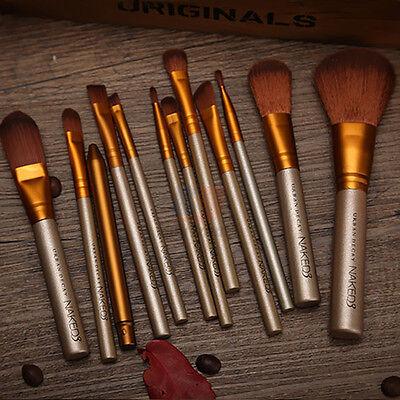 12pcs Makeup Cosmetic Brushes Set Powder Foundation Eyeshadow Lip Brush Tool 7