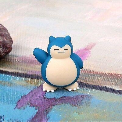 2017 New 5pcs Pokemon Go Snorlax Figure Toys Collection Pvc Dolls Decoration 4cm