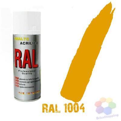 Bomboletta Spray Acrilico Colori Ral Vernice Graffiti Rapida Essiccazione 400 Ml 4