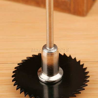 6pc HSS Circular Saw Disc Cutting Blade Kit with 1 Mandrel Drills Rotary Tools 4