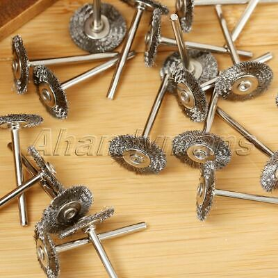 10Pcs Stainless Steel Wire Wheel Brushes Die Grinder Power Rotary Tool Wholesale 11