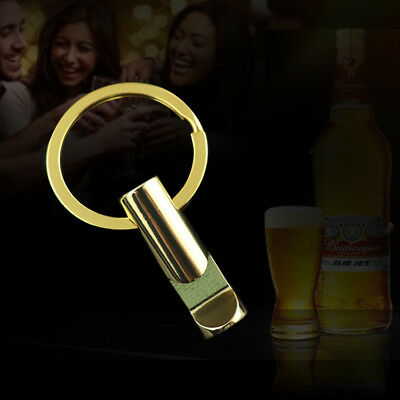 Creative Bottle Opener Keychain Key Metal Beer Openers Kitchen Drink Bar Tool 5