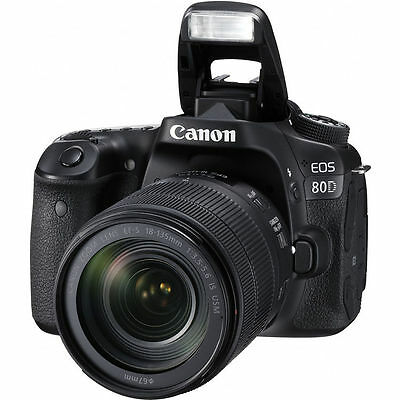 Canon EOS 80D DSLR Camera with EF-S 18-135mm f/3.5-5.6 IS USM lens 2