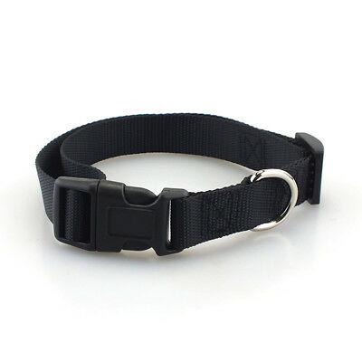 Small Medium Large Dog Collars Pet Cat Puppy Nylon Collar Neck Adjustable Buckle