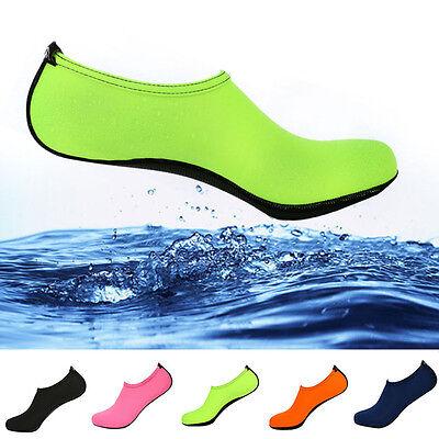 Unisex Barefoot Water Skin Shoes Aqua Socks Beach Swim Surf Yoga Exercise Top 4