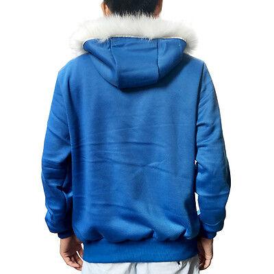 UNDERTALE SANS COSTUME Set Cosplay Blue Hoodie Hooded Jacket Winter Coat  Sweater
