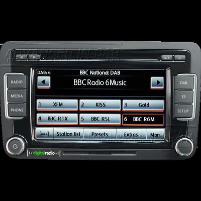 VOLKSWAGEN - SEAT - SKODA DVD de navigation ( RNS 510 ou 810 Europe V16  2019)