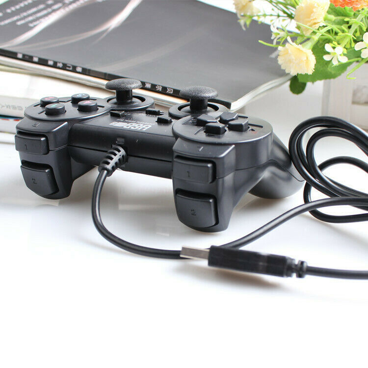 Wired USB Gamepad Game Gaming Controller Joypad Joystick Control for PC Comp RAC 4