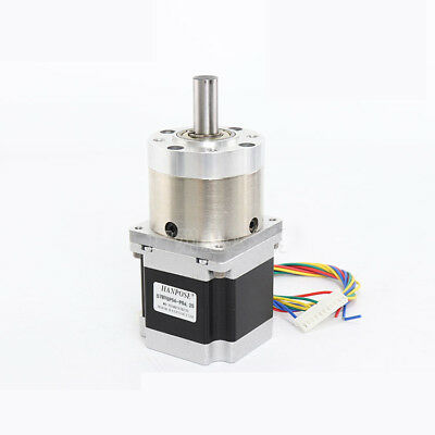 Nema 23 Stepper Motor 57mm Planetary Gear Motor 12mm Shaft 1:3.6 - 1:807 Ratio 8