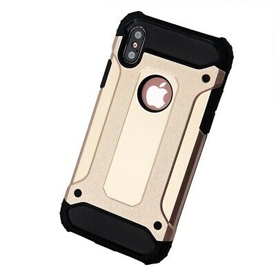 Hybrid Shockproof Heavy Duty Rubber Cover Case Fits In iPhone XR/ XS MAX/ XS/ X 6