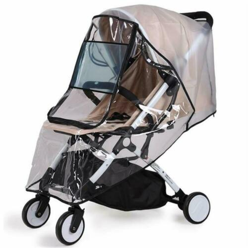 Buggy Rain Cover Universal Raincover Baby Kid Pushchair Stroller Pram Waterproof 3